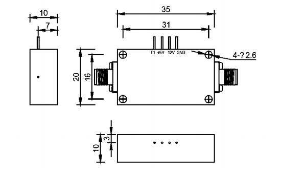 2-4GHz  (120W) Hight Power Switch SPST - MSW1-020040H