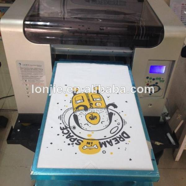 Newest Multicolor Bamboo Digital Printer Machine with DX5 Printhead