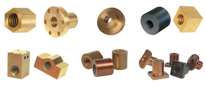 Acme Lead Jack Ball Screw Nuts Manufacturer CHINA