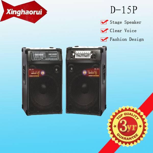 Newest Professional Loudspeaker (USB/SD/FM/EQ) D-15P