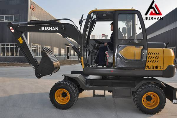 JS75-9M Wheel hydraulic excavator