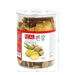 REAL SLICED DRIED GINGER