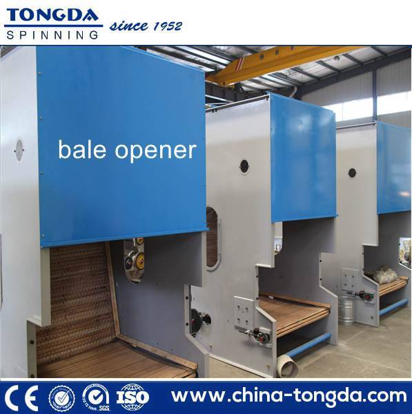 cotton bale opener in thermal production production line bale opener machine
