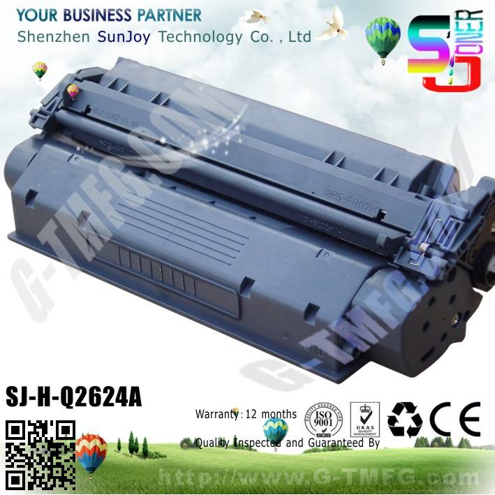 Sunjoy 24A toner cartridge Q2624A compatible for HP Laserjet 1150