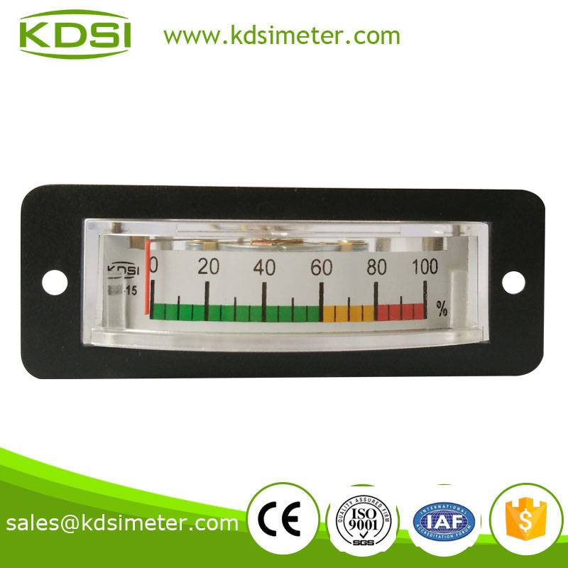 Small & high sensitivity BP-15 DC10V 100% color scale plate voltage load meter