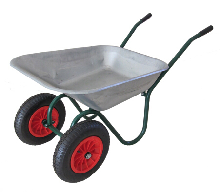 Gardon and construction wheelbarrow WB6410 two wheels