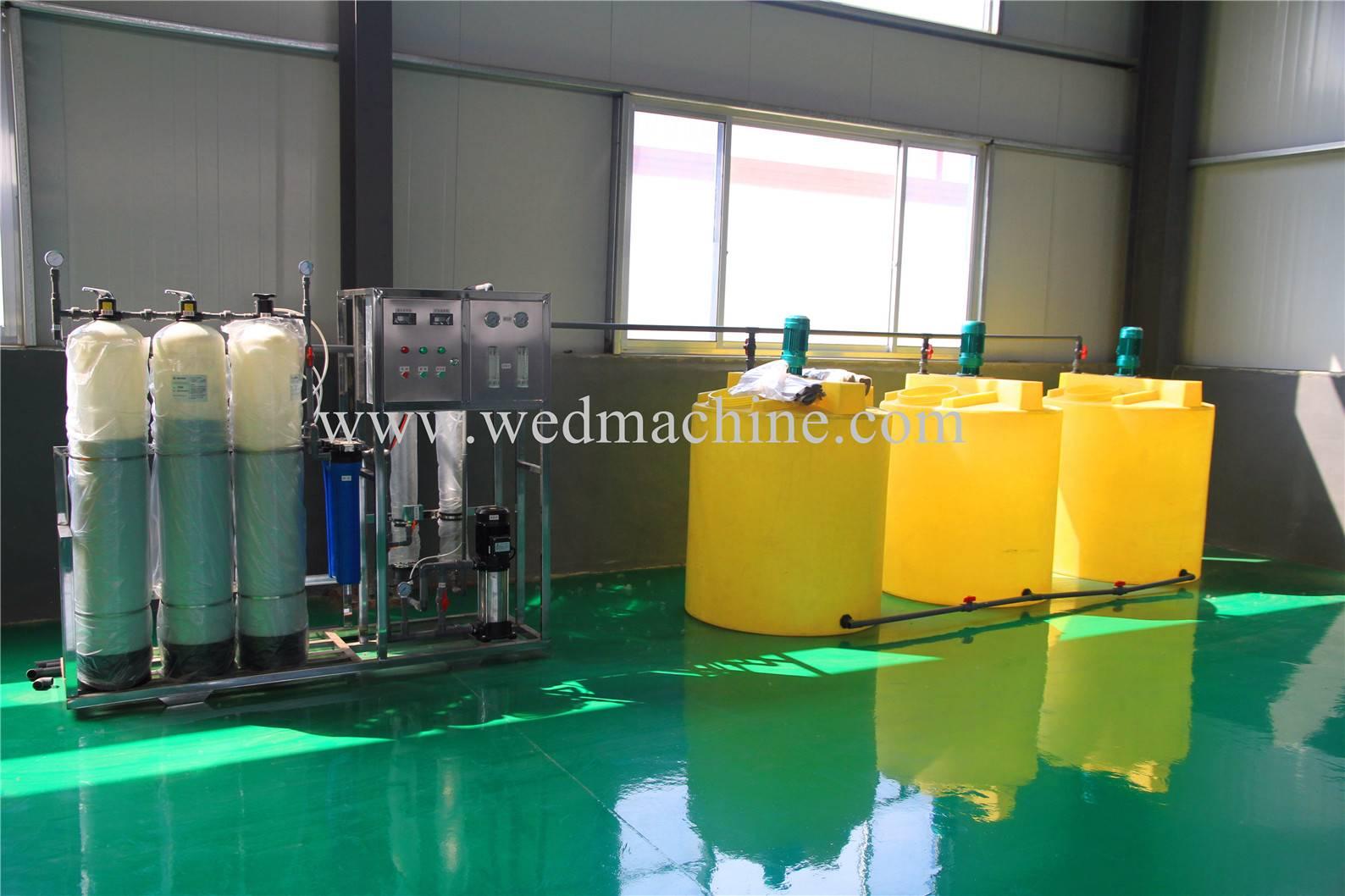 Windshield washer fluid filling machine