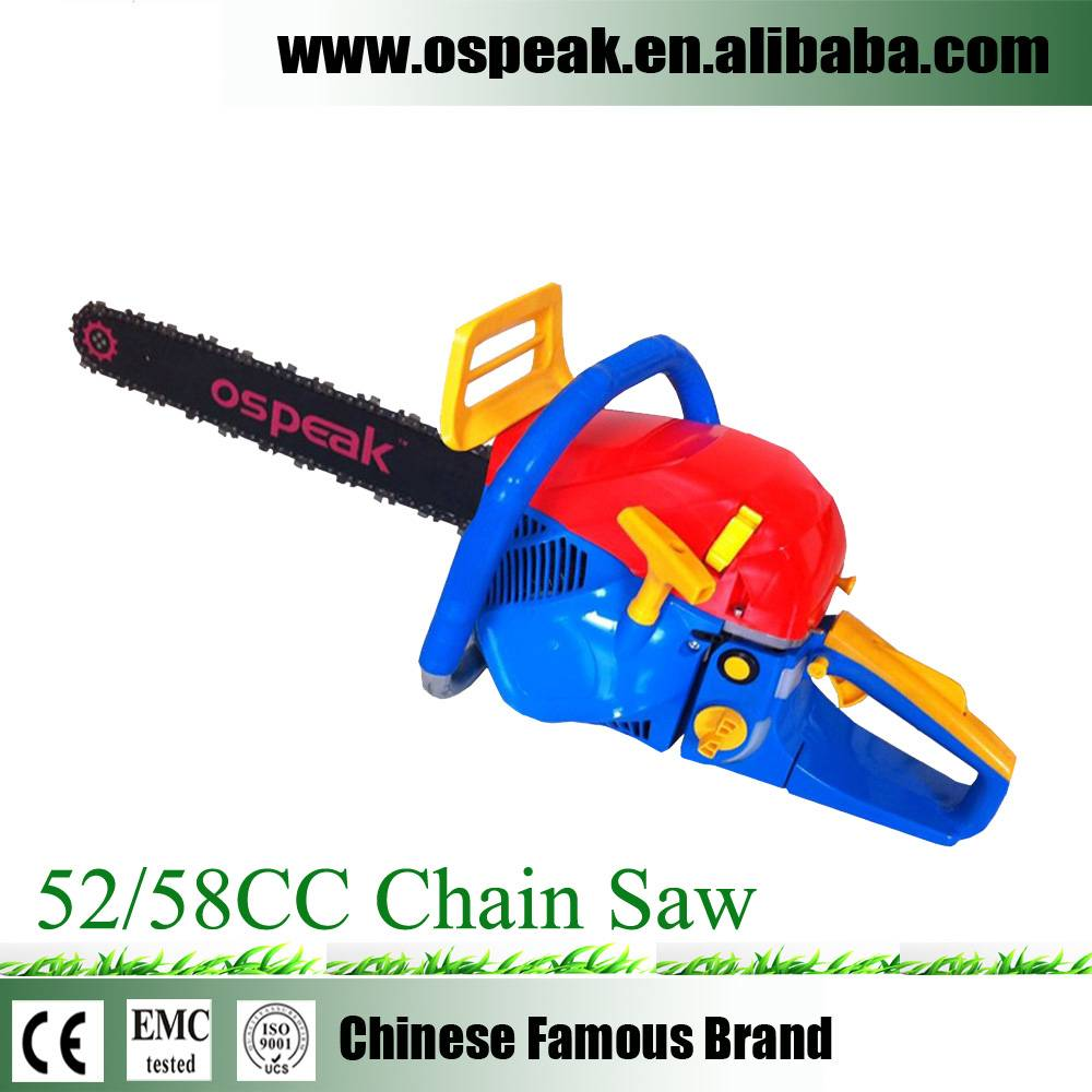 Gasoline Timber Cutting Chain Saw For Sale 5200 5800