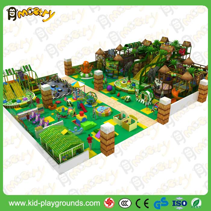 Kids soft foam indoor playground