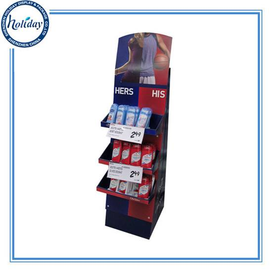 Custom Print factory price Store Display Shelf,High Quality Cardboard Supermarket Price Tag Display