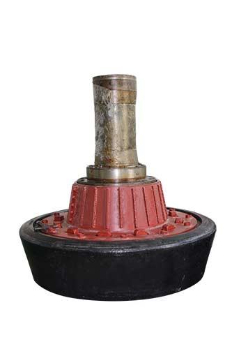 Vertical roller mill grinding roller