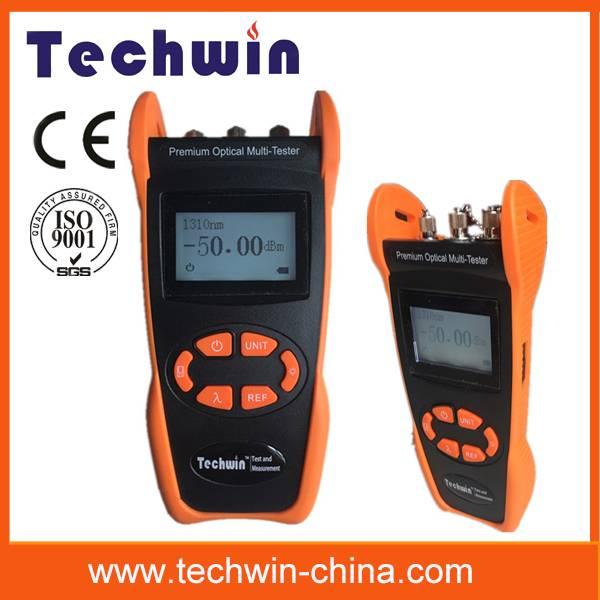 Techwin OPM/OLS/VFL three function optical multimeter TW3305E