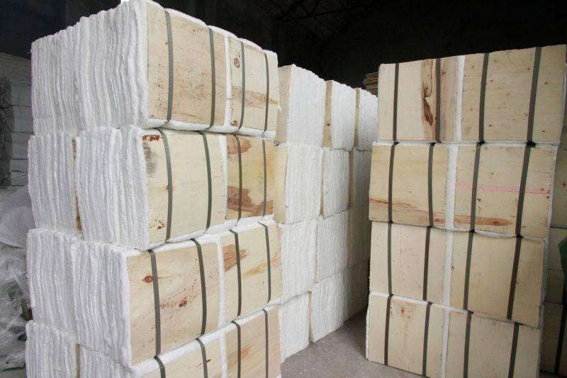 Refactory Furnace Insulation Material Ceramic Fiber Moudle