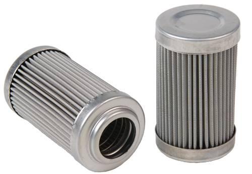 Stainless steel oil filter