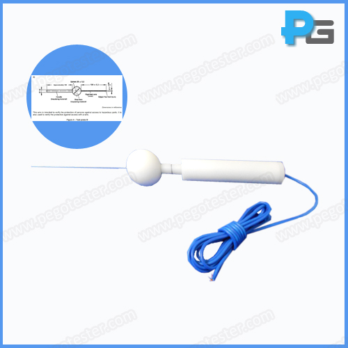 IEC60529 61032 IP4X 1.0mm Test Wire Probe D