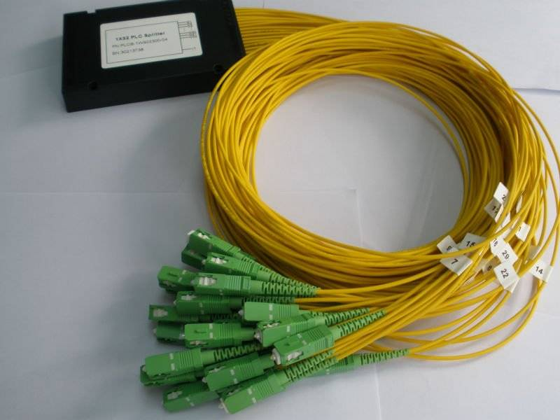 Best selling hot Chinese products FTTH module fiber optical 1x8 PLC splitter/ outdoor fiber optic sp