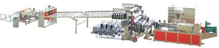 PVC Free Foaming Board Extrusion Line
