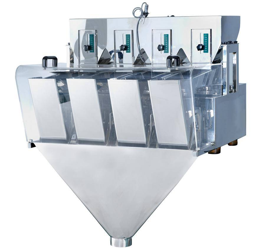 linear weighing machines,linear weigher packing machine,4 heads linear weigher