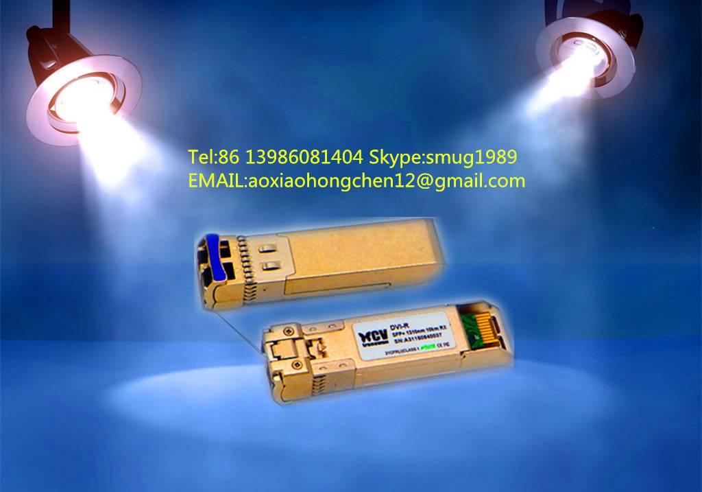 10G Short Wavelength Pluggable SR SFP+ Transceiver module up to 300m on 50/125um multimode fiber
