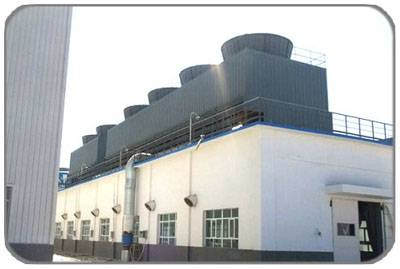 Square counter FRP cooling tower
