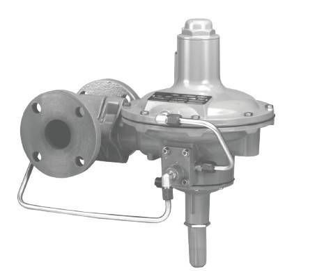fisher299H pressure reducing valve