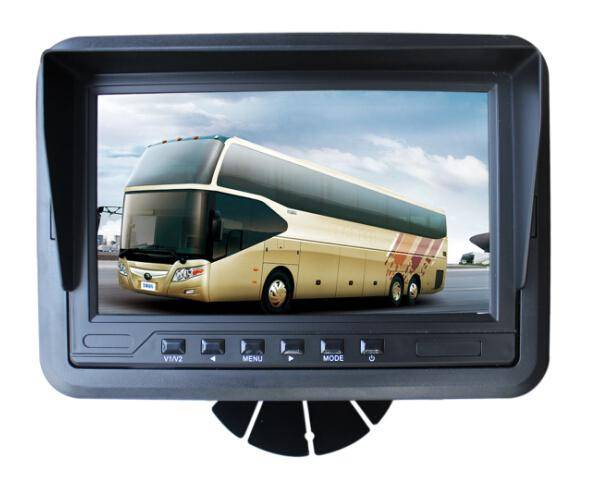 new released 7 inch three way video monitor