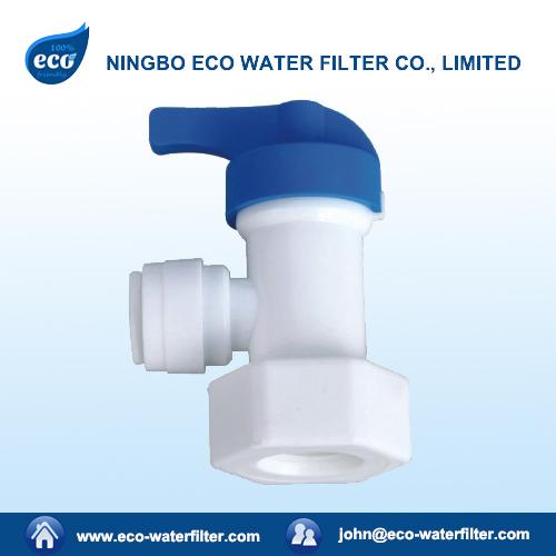 plastic water storage tank valve