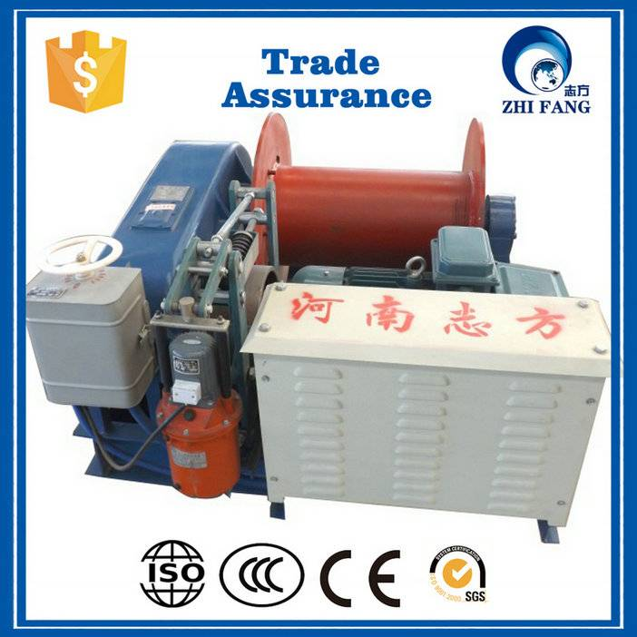 High quality china JK 5 ton electric winch with competitive price