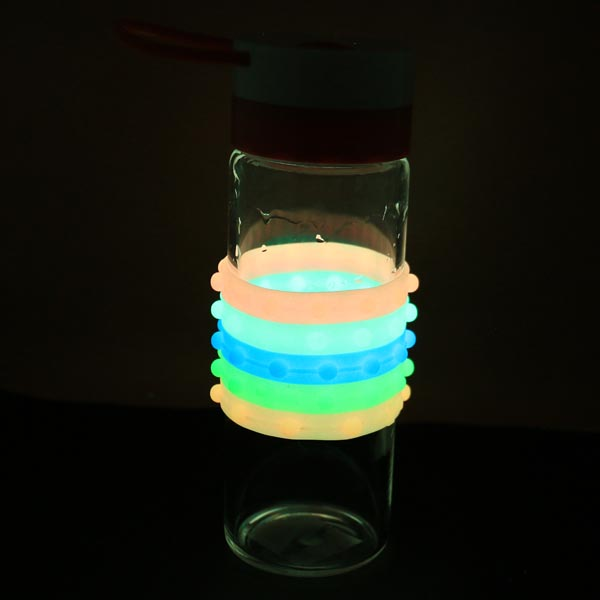 Luminous Colorful Glow in the Dark silicone bracelet