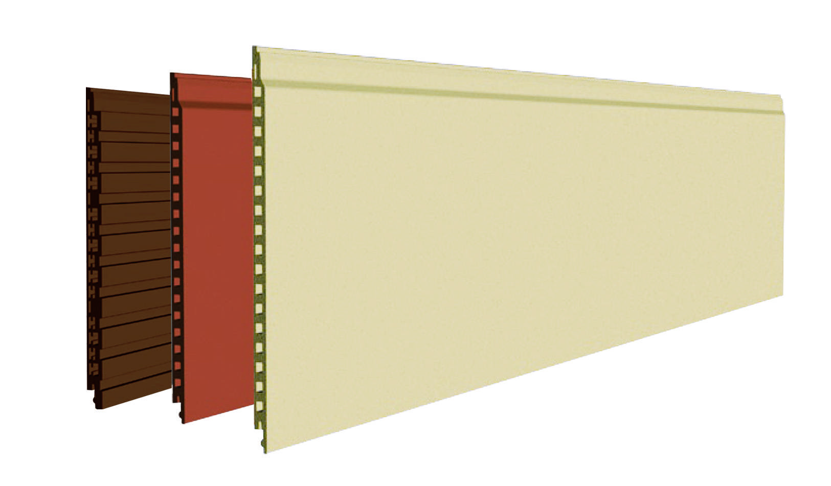 intensified fiber cement board/ siding( K series with holes; colored board,inside and outside )