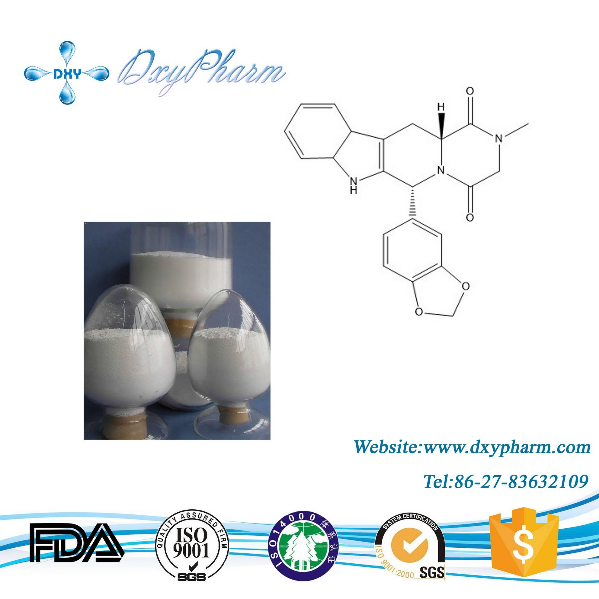 High quality Tadalafil CAS:171596-29-5