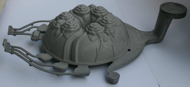 Aluminium die casting -cake mould
