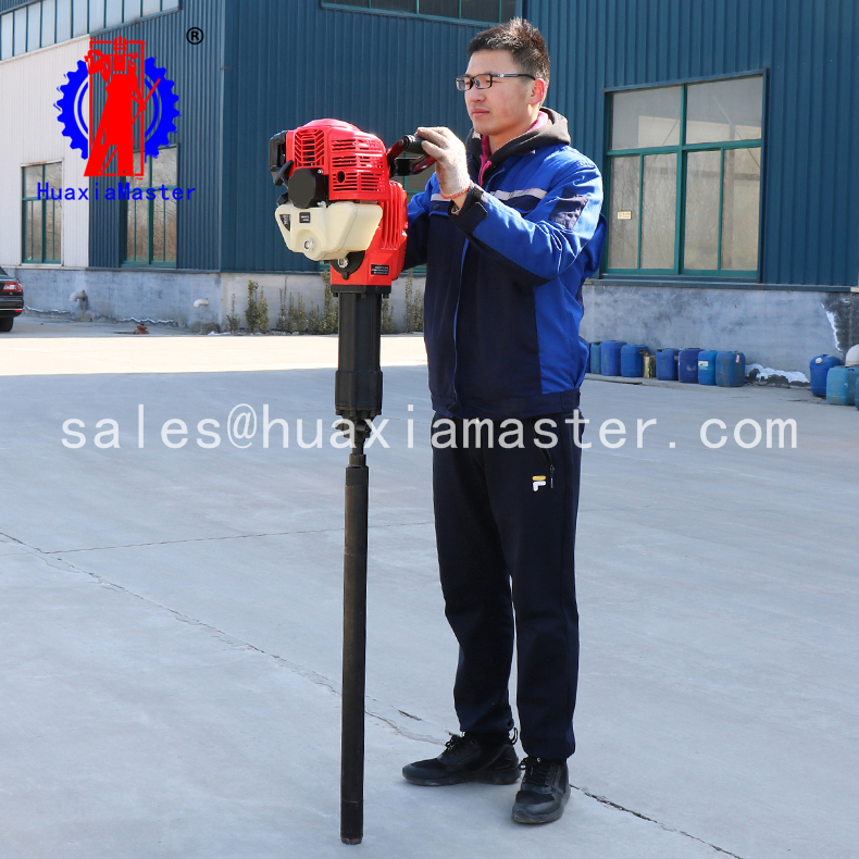 soil sample core drill rig/impact exploration drill machine /lightweight geotechnical drilling rig