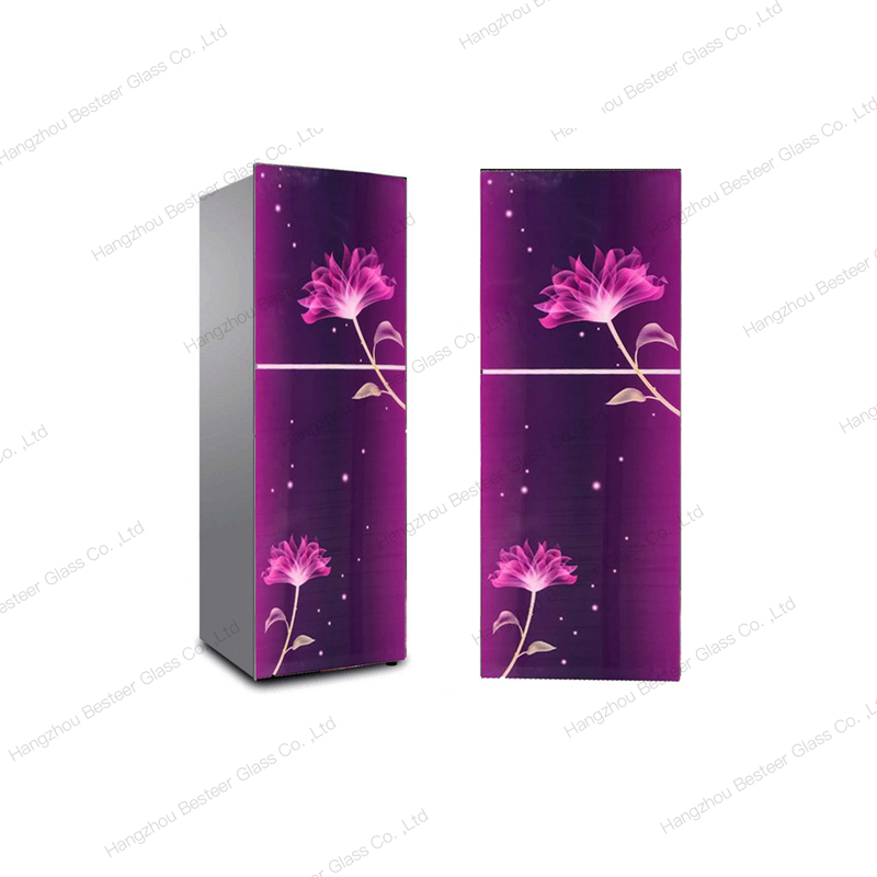 Full HD Printing Tempered Glass Panel for Refrigerator