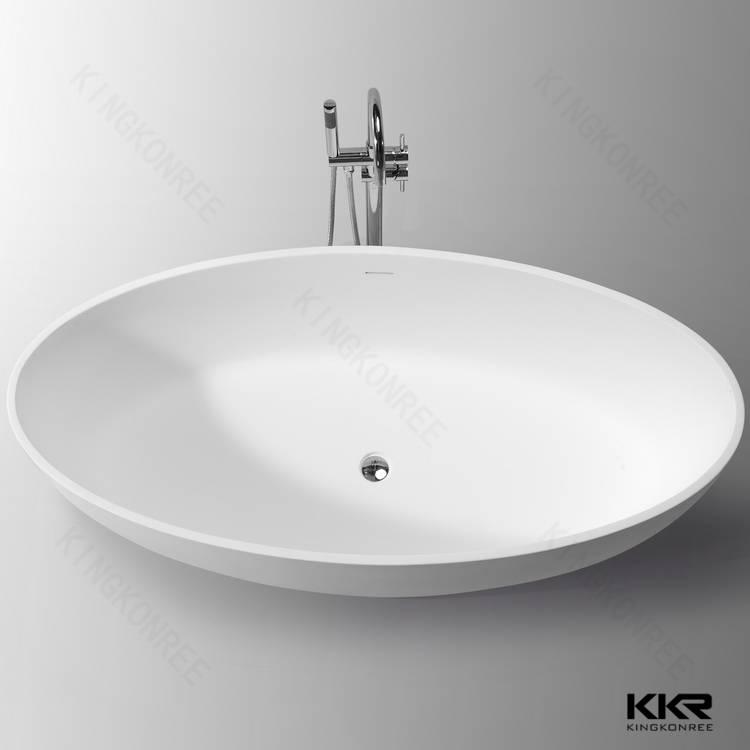 KKR deep soaking stone resin bathtb