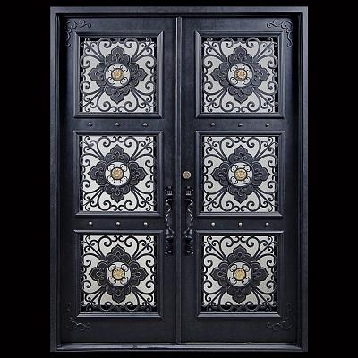 Modern house galvanized iron door