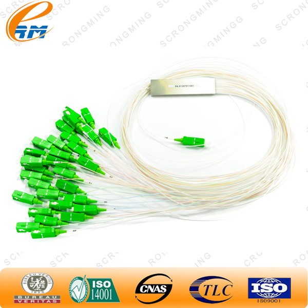 FC PC 1x16 ABS BOX type FTTH PLC optical splitter