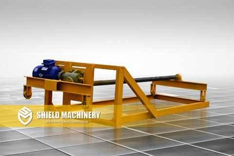 CLC Block Machine Push Car