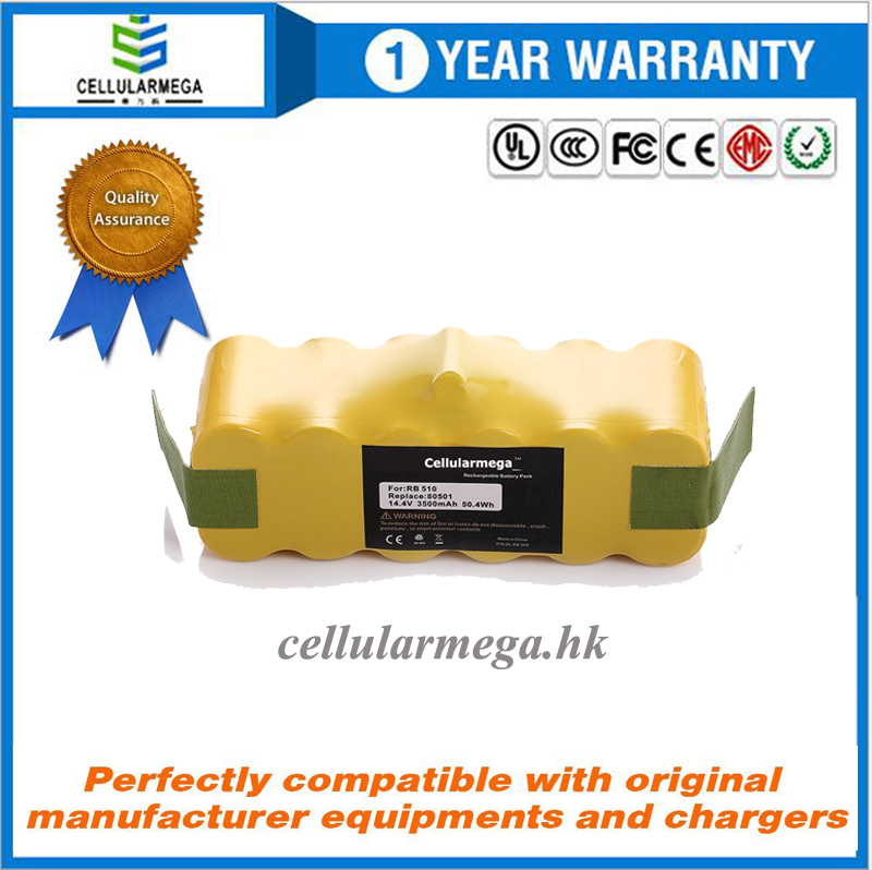 High Capacity Roomba Rechargeable Replacement Battery for iRobot Roomba 500 510 530 532 535 536 540