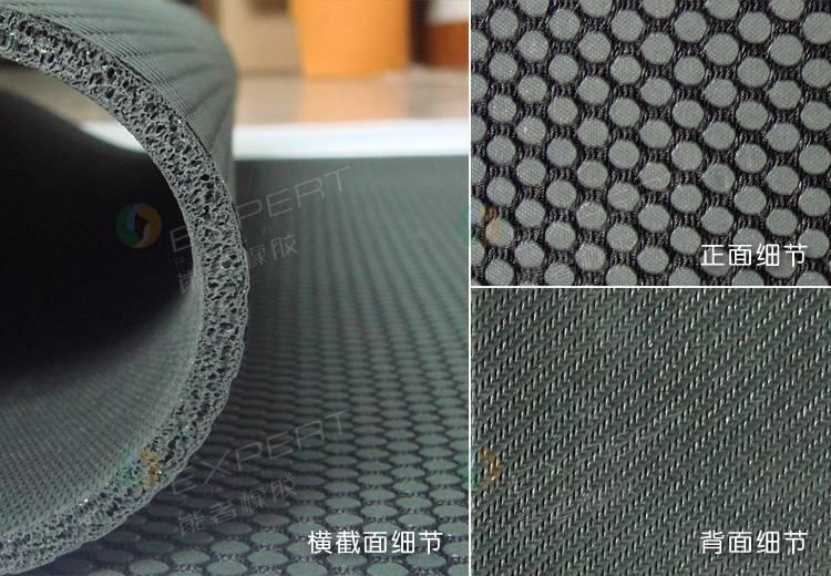natural rubber yoga mat with customize logo