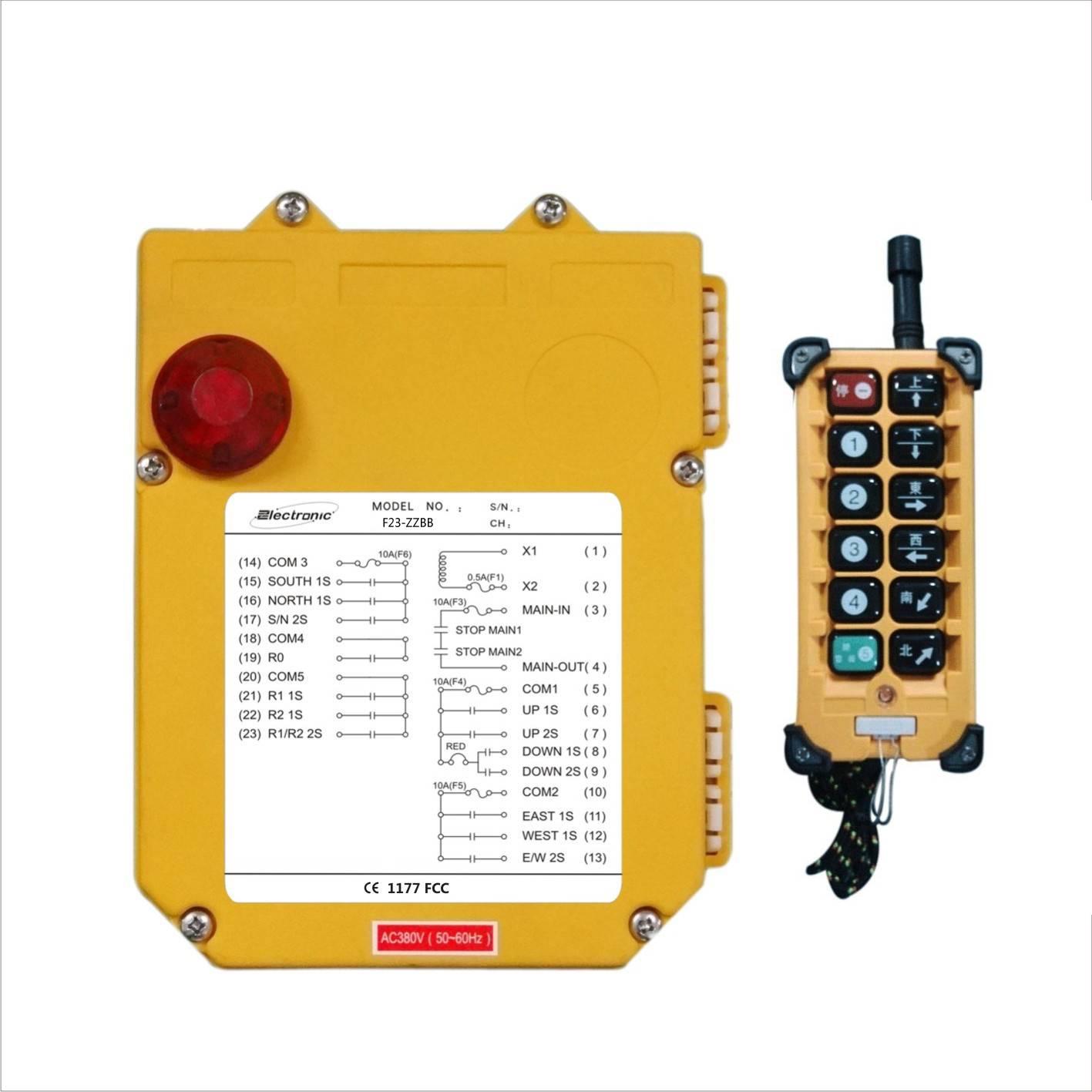 F23-ZZBB radio remote controller