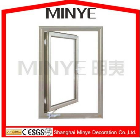 American design crank-operator aluminum window /casement windows