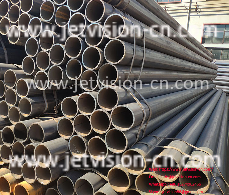 High Quality ASTM106 Carbon Welded ERW Steel Pipe