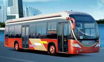 luxury city bus, BRT, CNG bus expert,  hengtong bus