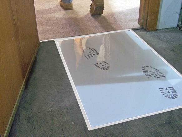 sticky mat made of adhesive PE film for household