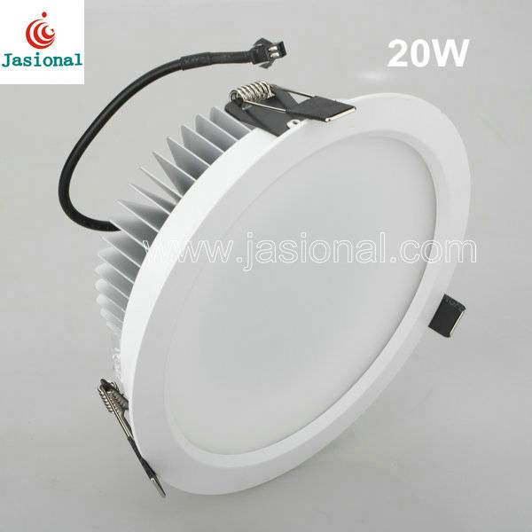 ce/rohs/saa approved 20w 6 inch led ceiling downlights