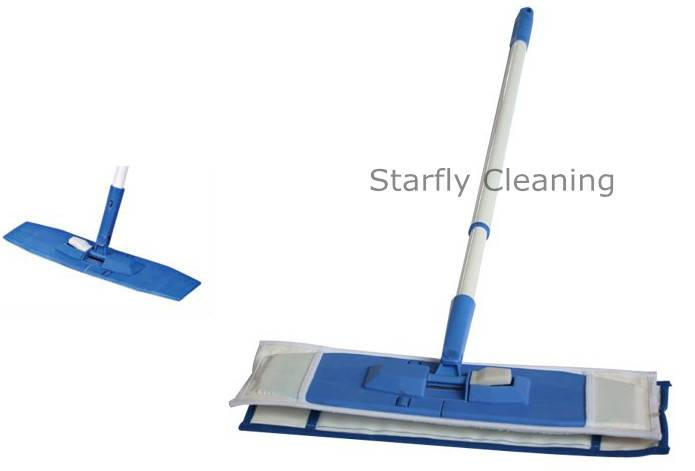 Microfiber Flat Mop With Telescopic Handle 1008B