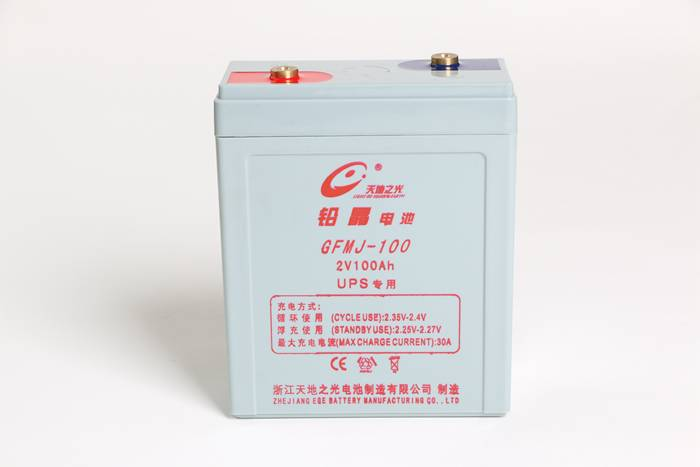 lead crystal battery