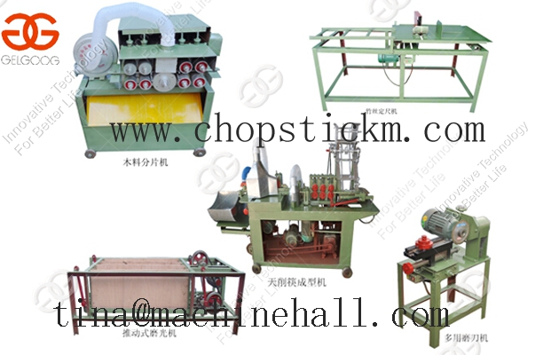 Wood Chopstick Making Machine For Sale