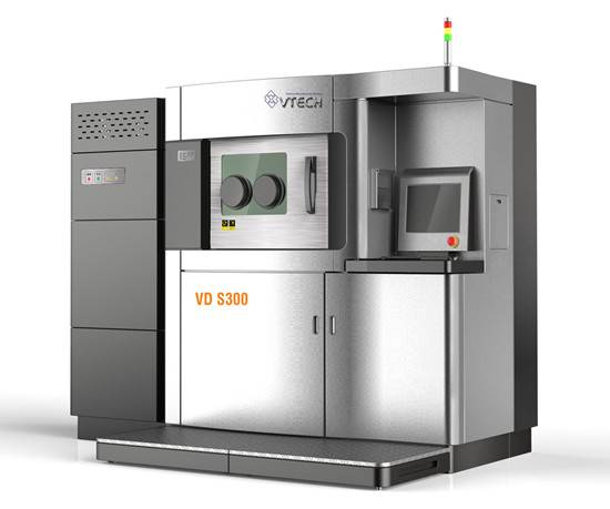 3D metal materials used laser rapid prototyping machine